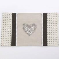 Altom Povlak na polštářek Provence Heart, 30 x 50 cm
