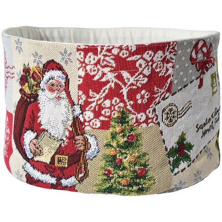 Sander Koszyk do chleba Santa Claus, 15 x 23 cm
