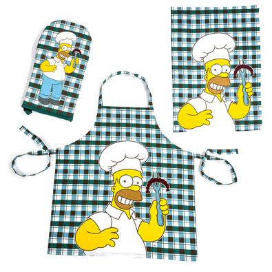 Kuchyňská souprava Homer Simpsons a klobása
