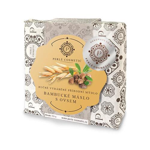 Topvet Mýdlo bambucké máslo s ovsem 115 g