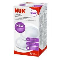 NUK Prsní polštářky Ultra Dry, 30 ks