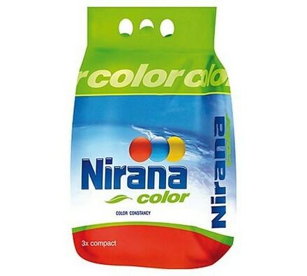 Prací prášek na barevné prádlo NIRANA COLOR 3 kg, vícebarevná