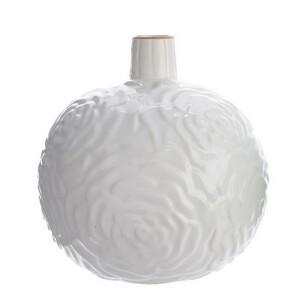 Váza Flowers bílá, 11,5 cm