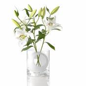 Váza Four flower 23 cm, bílá