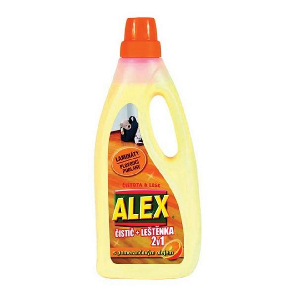 Alex 2v1 čistič laminát a plouvoucí podlahy 750 ml,