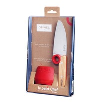 OPINEL Detský set nožov Le Petit Chef + chránič prstov