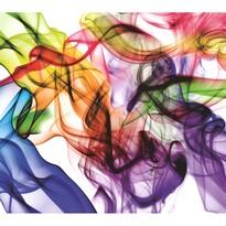 Tapeta fotograficzna XXL Kolorowy dym 360 x 270 cm, 4 elementy