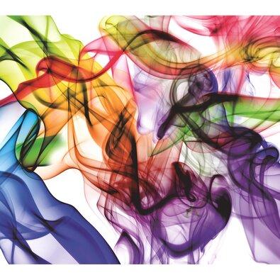 Fototapeta XXL Barevný kouř 360 x 270 cm, 4 díly