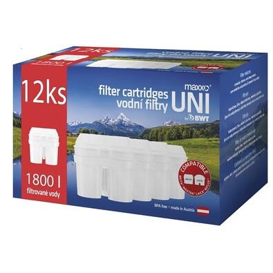 Maxxo UNI vodní filtry 12 ks