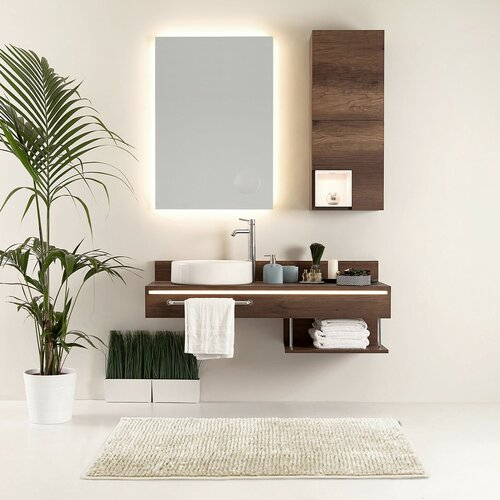AmeliaHome Sada koupelnových předložek Bati béžová, 2 ks 50 x 80 cm, 40 x 50 cm