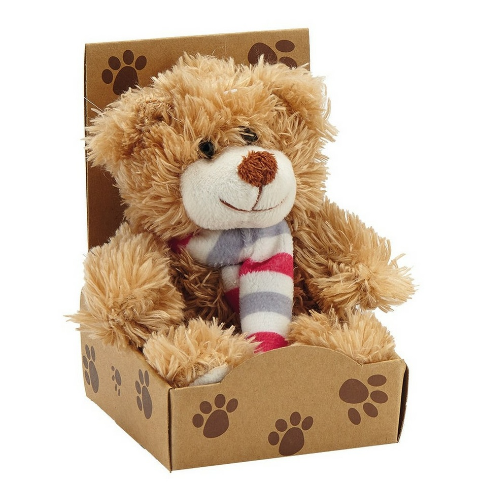 VOG Plyšový medvídek Teddy, hnědá
