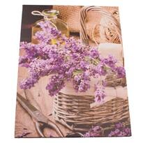 Tablou pe pânză Decor cu levănțică, 30 x 40 cm