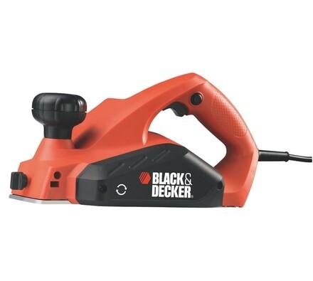 Elektrický hoblík + kufřík, Black & Decker, KW712K, červená