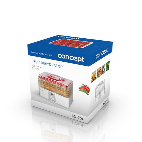 Concept SO1001 digitális gyümölcsszárító