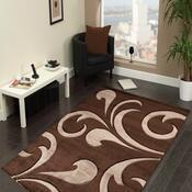 Kusový koberec Hawaii 1320 Brown, 80 x 150 cm