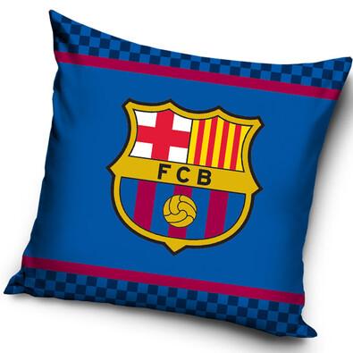 Vankúšik FC Barcelona Logo, 40 x 40 cm