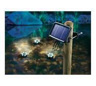 Conrad Solární LED reflektory pod vodu 14,5 x 10,5 x 2,8 cm černá