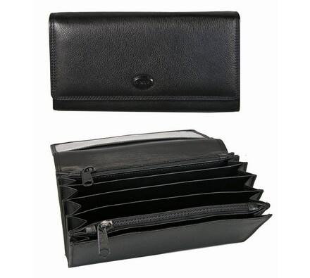 Peněženka Famito 7030 Cruz černá