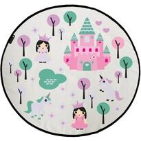 Butter Kings Pink kingdom gyerek játszószőnyeg, 130 cm