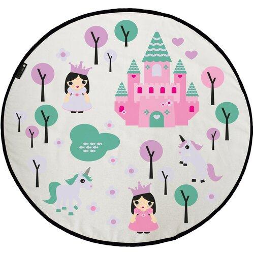 Butter Kings Mata do zabawy dla dzieci Pink kingdom, 130 cm