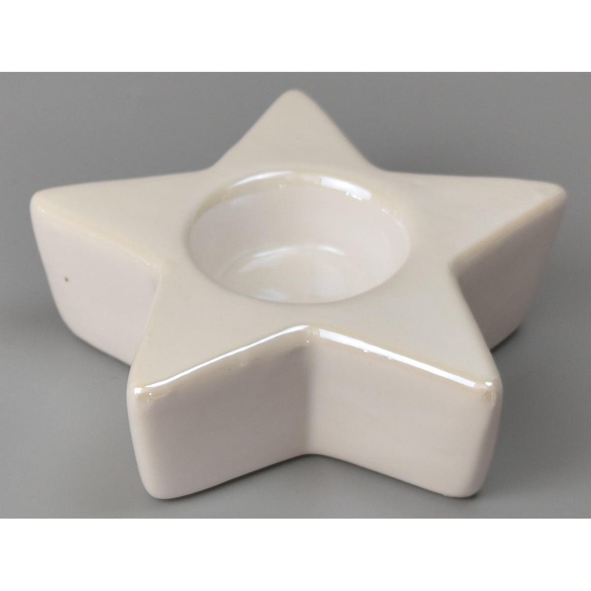 Vánoční svícen na čajovou svíčku Escanaba, 12 x 3,5 cm