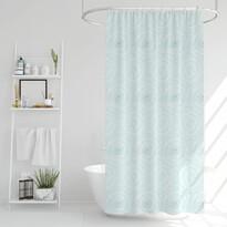 Sprchový záves Poly modrá, 180 x 180 cm