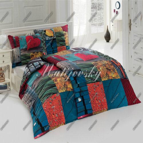 Matějovský bavlnené obliečky Burbery, 140 x 220 cm, 70 x 90 cm