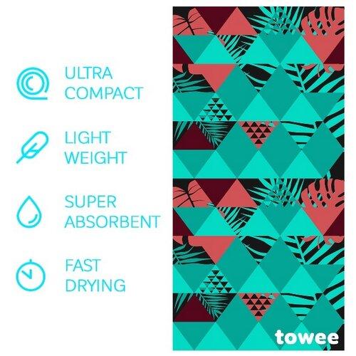 Towee Ręcznik szybkoschnący GEO, 70 x 140 cm