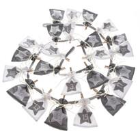 Textilný adventný kalendár Stars, 68 cm