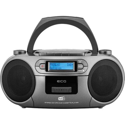 ECG CDR 999 DAB, čierna prenosné rádio s CD