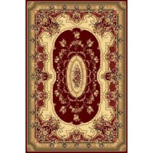 Habitat koberec Super Antique curve červená, 200 x 300 cm