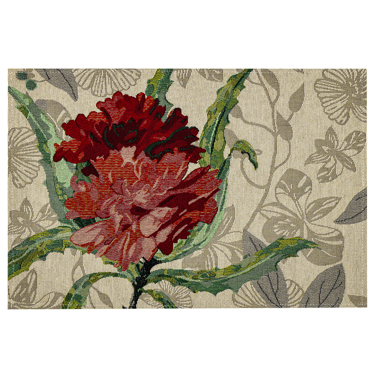 Poza Napron Trandafir rosu, 32 x 48 cm