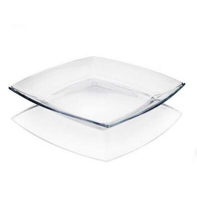 Sada mělkých skleněných talířů Tokio, 6 ks
