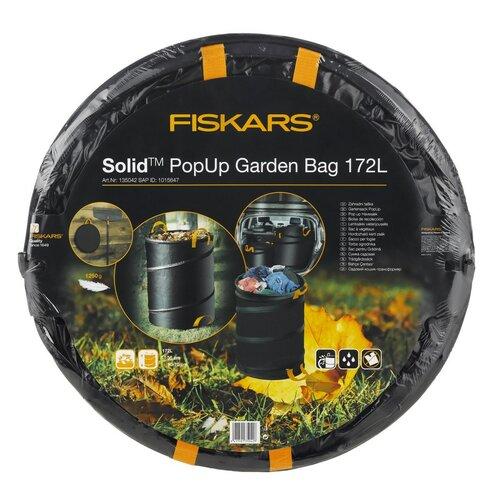 Fiskars Solid Záhradný skladací kôš 172 l