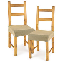 4Home Comfort multielasztikus székhuzat, beige, 40 - 50 cm, 2 db-os szett