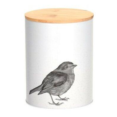 Plechová dóza Bird, 11 x 14,5 cm