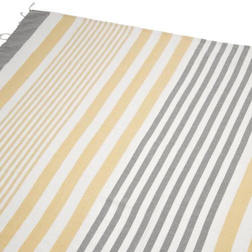 Ubrus Hammam žlutá, 100 x 180 cm