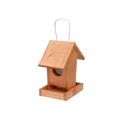 Kŕmidlo pre vtáčiky Apartment, hnedá