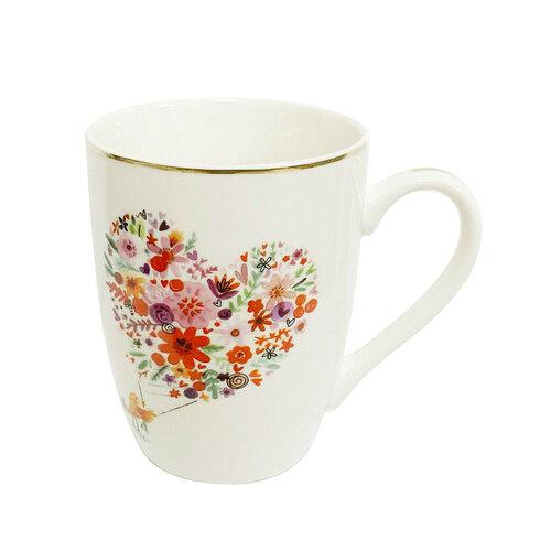 Altom Romantic porcelán bögre, 300 ml