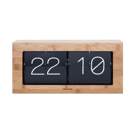 Karlsson 5642WD dizájner asztali billenthető óra, 37 cm