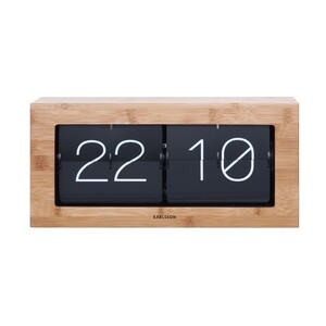 Stolní překlápěcí hodiny 5642WD Karlsson 37cm