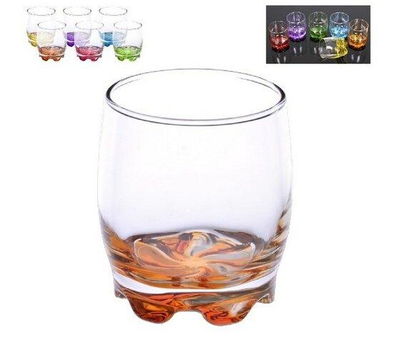 Farebné poháre, 0,28 l