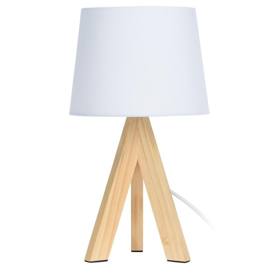 Koopman Stolní lampa Atalai, bílá