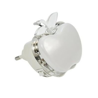 Solight WL904 Nočné LED svetielko Jablko, biela