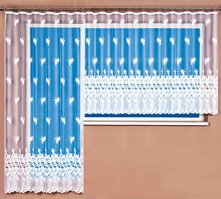4Home žakárová záclona Vivien, 350 x 175 cm + 200 x 250 cm
