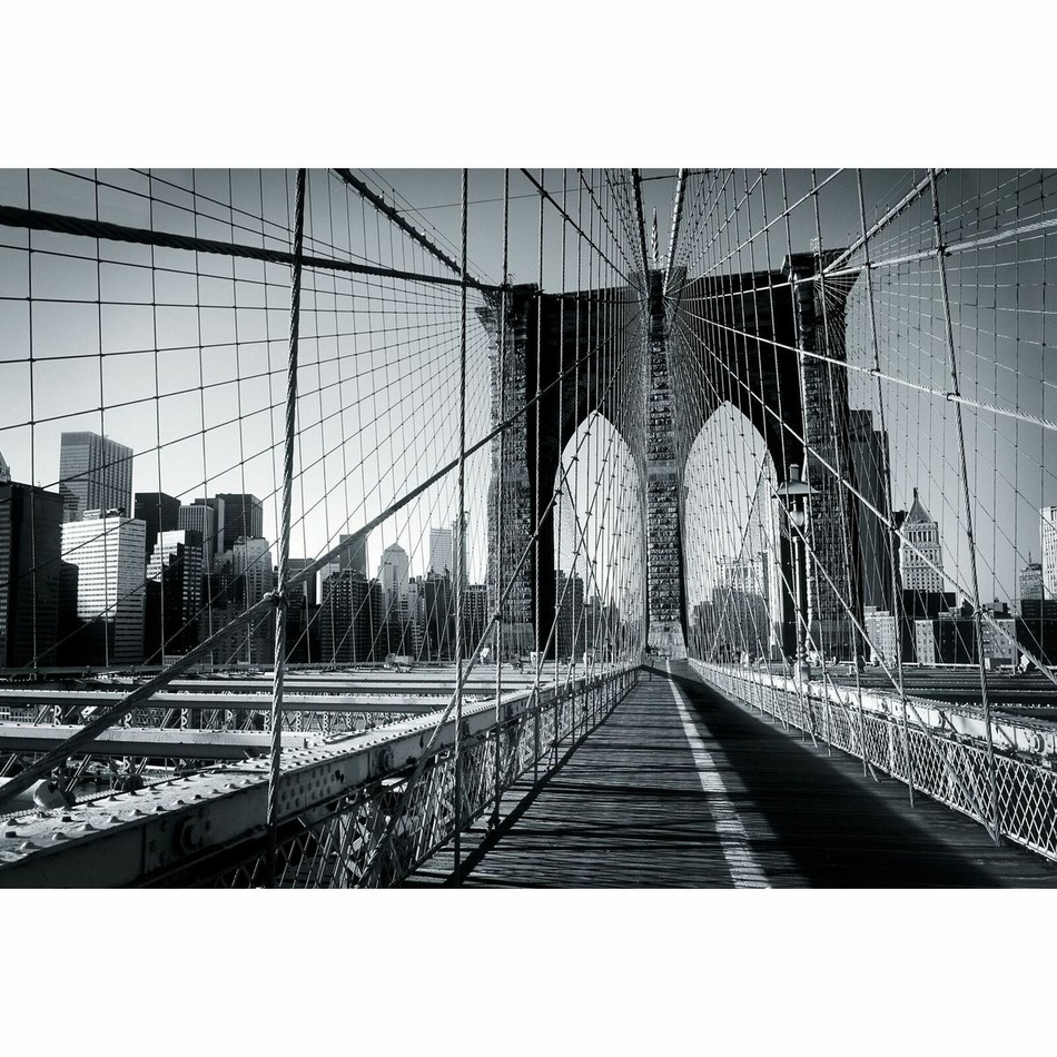Up and Down Fototapeta Brooklyn Bridge, 232 x 315 cm