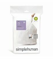 Simplehuman zsák szemeteskosárba G 30 l, 20 db