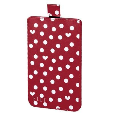 ELLE Hearts & Dots obal na mobil, velikost L