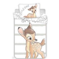 Dziecięca pościel bawełniana do łóżeczka  Bambi stripe, 100 x 135 cm, 40 x 60 cm
