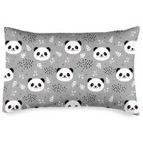 4home Husă de pernă Nordic Panda, 50 x 70 cm